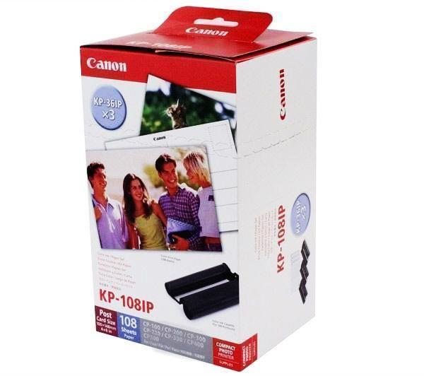 Canon KP108IN Băng mực kèm giấy in hình