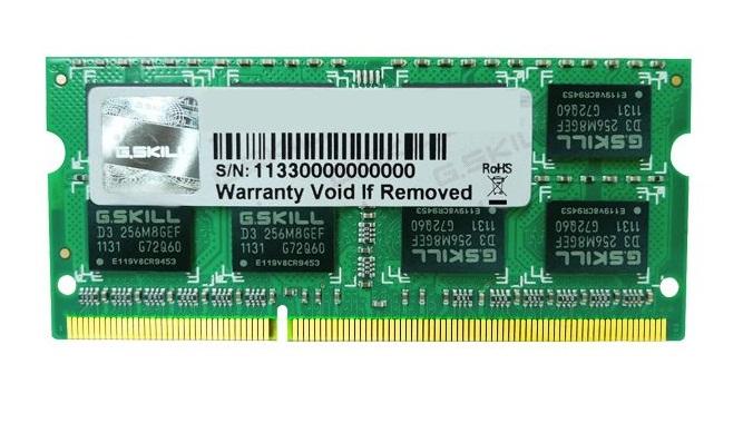 DDR3 2GB (1333) G.Skill F3-10666CL9S-2GBSQ