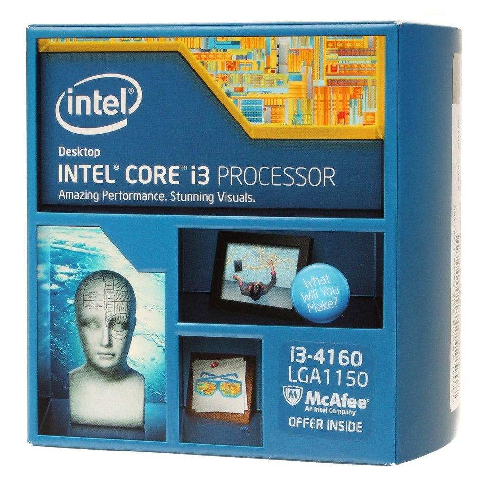 Intel Core i3-4160 Processor  (3M Cache, 3.60 GHz)