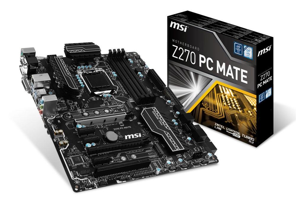 Mainboard MSI Z270 PC MATE Socket 1151 (Z270 PC MATE)
