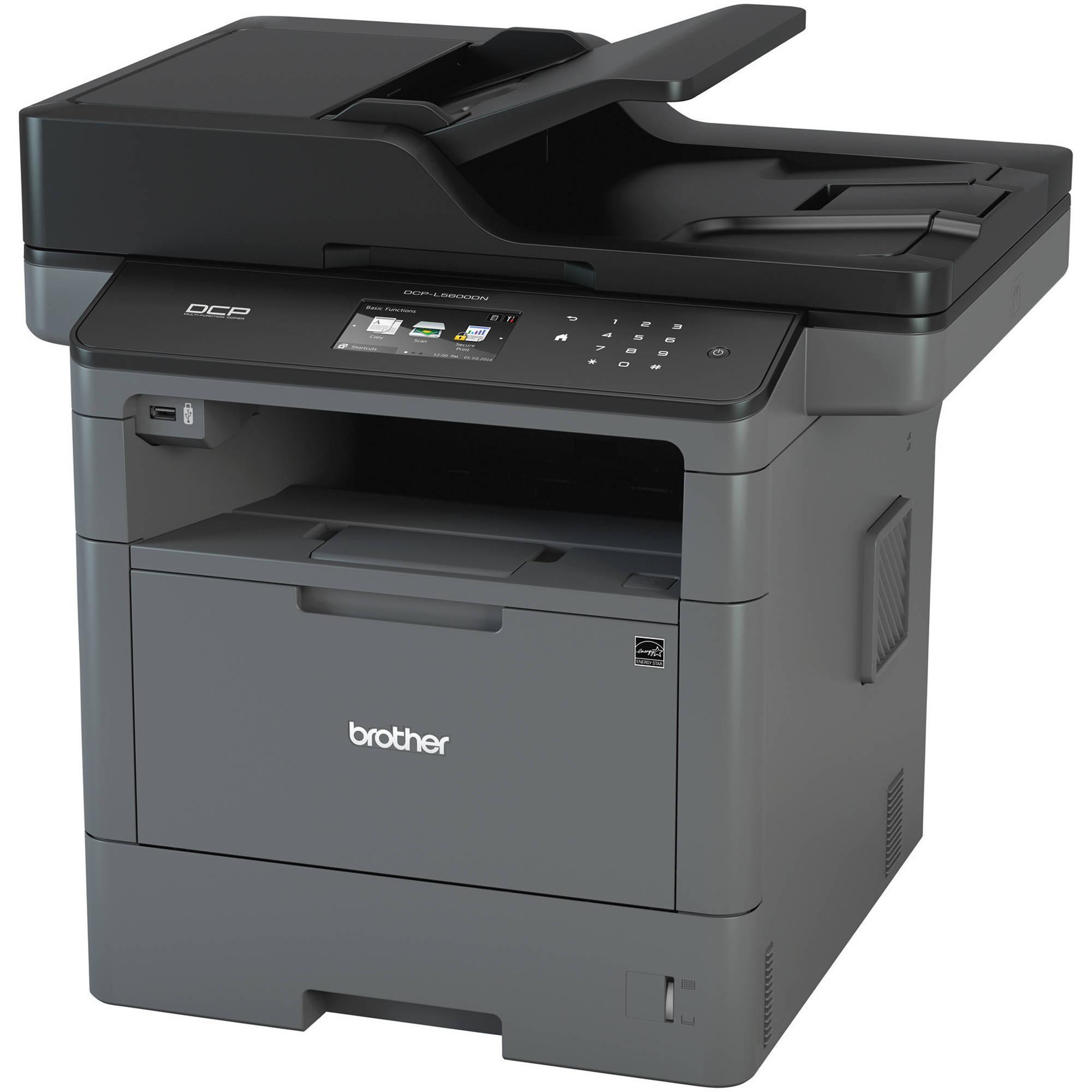 Máy in Brother DCP-L5600DN, In, Scan, Copy, Duplex, Netwwork, Laser trắng đen