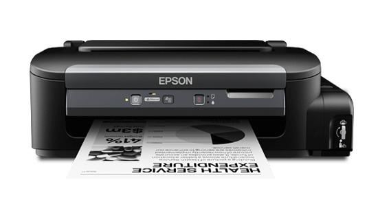 Máy in Epson M100, In phun trắng đen, Có bộ tiếp mực ngoài chính hãng