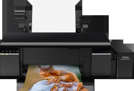 Máy in Wifi Epson L805, In phun màu hệ thông mực ngoài chính hãng