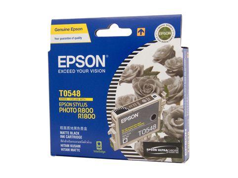 Mực in Epson T0548 - UltraChrome Hi-Gloss - Matte Black Ink Cartridge