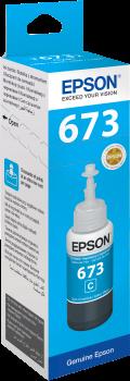 Mực in Epson T673200 Cyan Ink Cartridge (T673200)