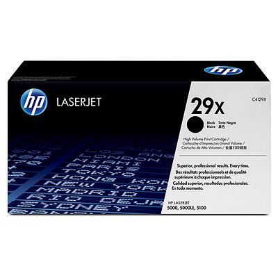 Mực in HP 29X Black LaserJet Toner Cartridge (C4129X)