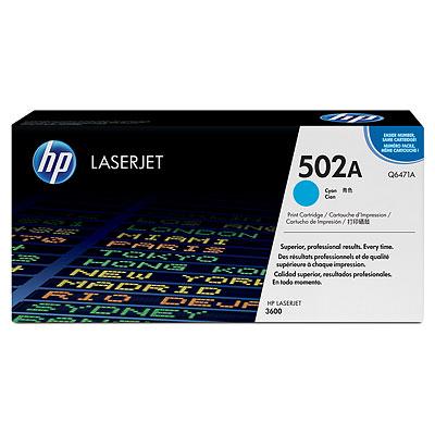 Mực in HP 502A Cyan LaserJet Toner Cartridge (Q6471A)