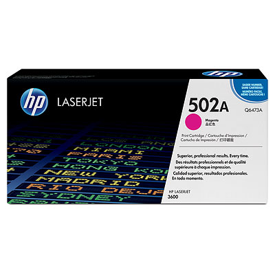 Mực in HP 502A Magenta LaserJet Toner Cartridge (Q6473A)