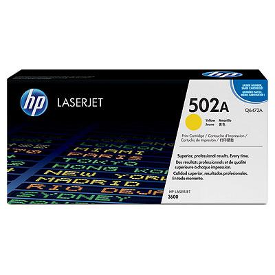 Mực in HP 502A Yellow LaserJet Toner Cartridge (Q6472A)