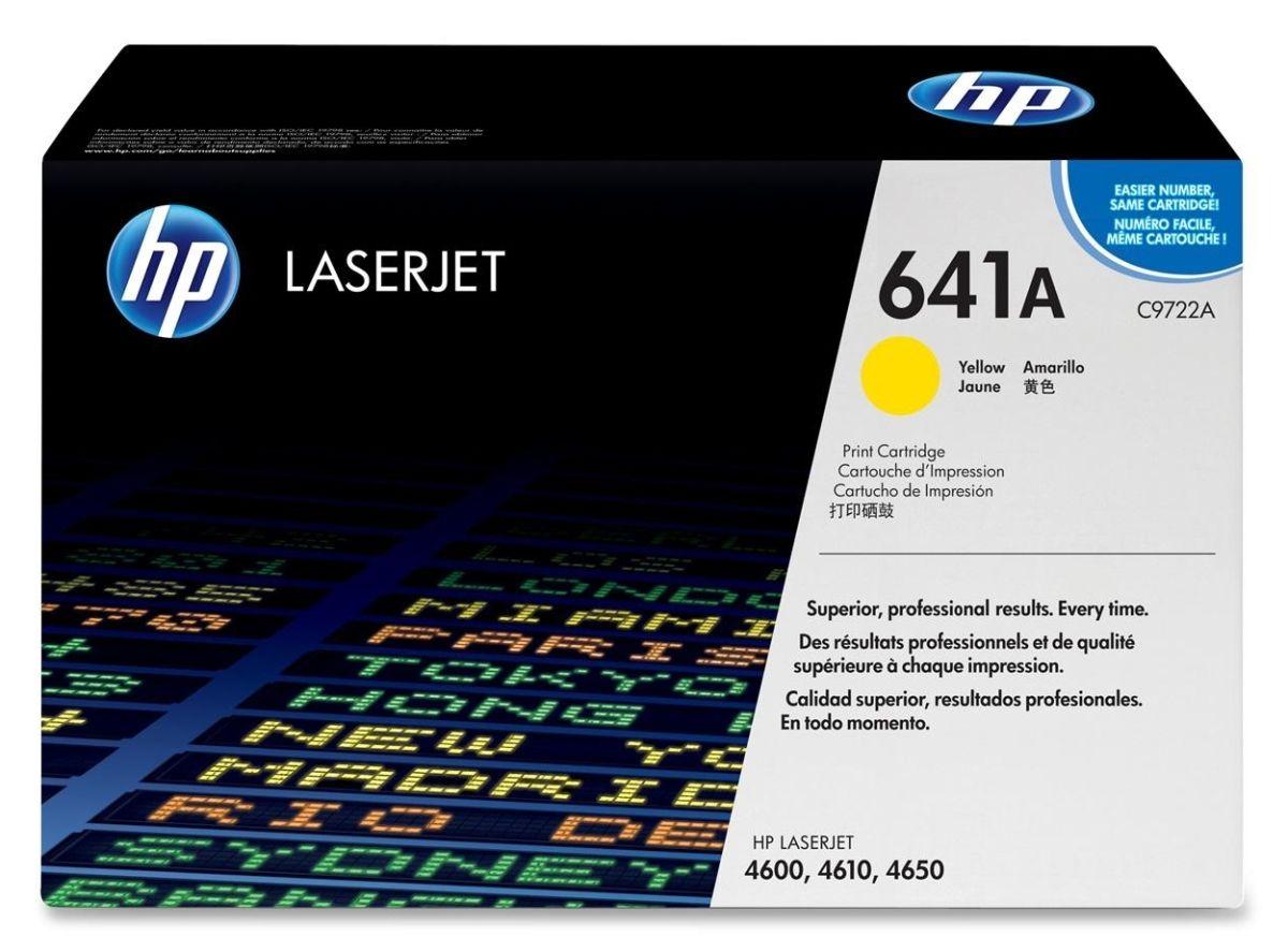 Mực in HP 641 Yellow Print Cartridge (C9722A)