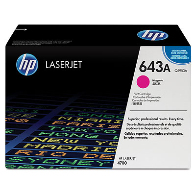 Mực in HP 643A Magenta LaserJet Toner Cartridge (Q5953A)