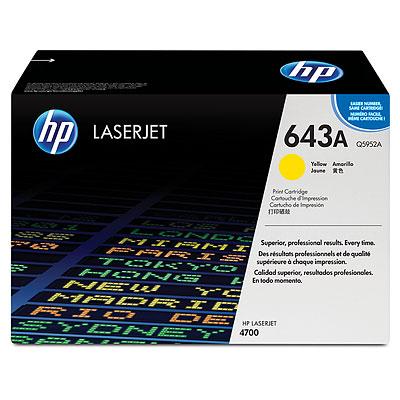 Mực in HP 643A Yellow LaserJet Toner Cartridge (Q5952A)
