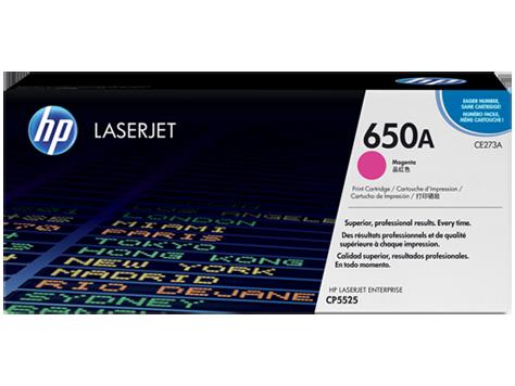 Mực in HP 650A Magenta LaserJet Toner Cartridge (CE273A)