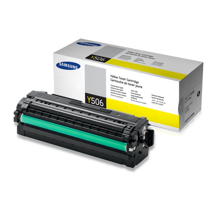 Mực in Samsung CLT-Y506L Yellow Toner (3,500 pages)