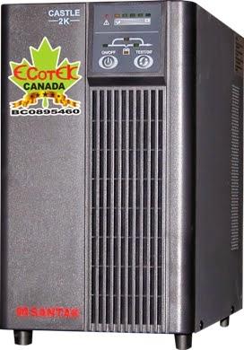 UPS 3000VA SANTAK ONLINE 3KVA–MODEL C3KE
